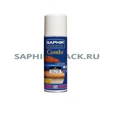 Аэрозоль для ухода за комбинированными изделиями Saphir Combi, 200мл.