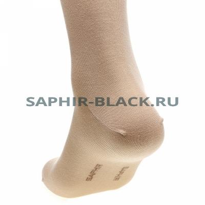 Носки мужские, Saphir, бежевые, бамбук (80%), нейлон комфорт (20%)