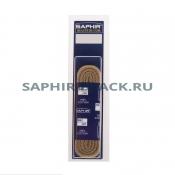 Шнурки Хлопковые Saphir 45см. Круглые Толстые
