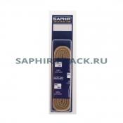 Шнурки Хлопковые Saphir 60см. Круглые Толстые
