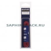 Шнурки Хлопковый Saphir 120см. Круглые. Толстые