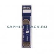 Шнурки Хлопковые Saphir 150см. Круглые Толстые