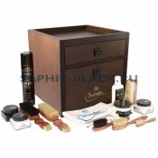 Набор средств для обуви в деревянном ящике, Saphir-Medaille