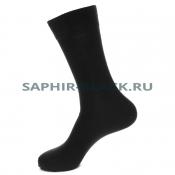 Носки мужские Saphir, черные, шерсть (80%), кулмакс (20%)