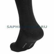 Носки мужские Saphir, черные, хлопок (48%), микромодал (47%), эластан (5%)